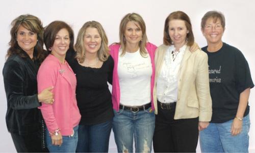 Monica, Melissa, Karen, Janet, Connie, JoDeen
